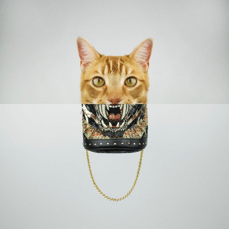 Кот-сумочка