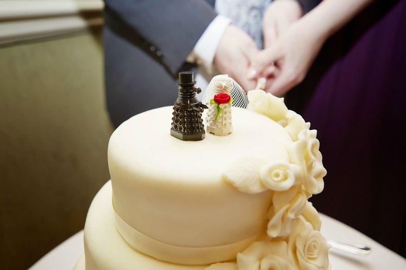 Креативный торт на свадьбу