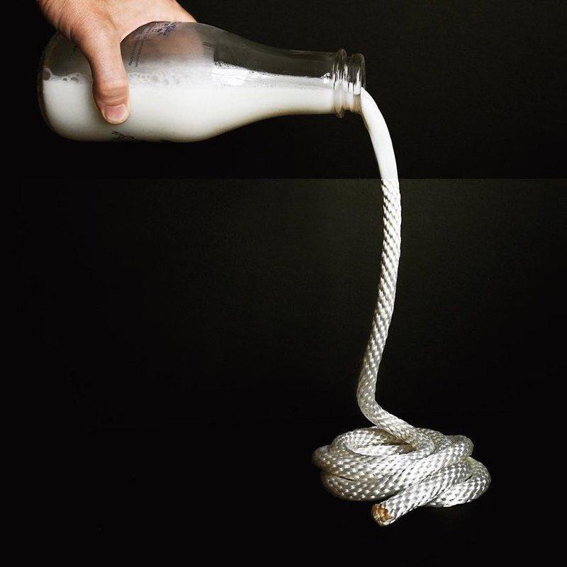Молоко-веревка