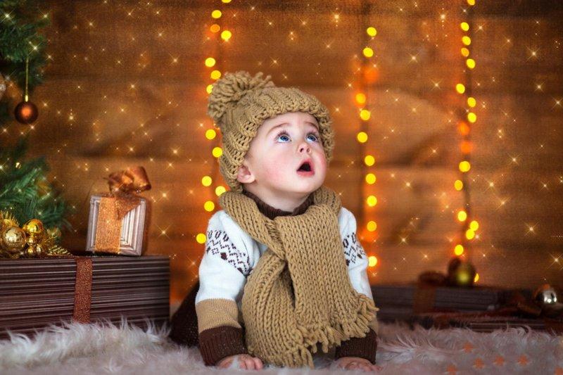 Малыш в новый год