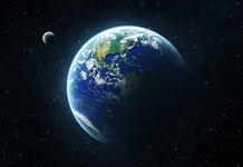 Наша планета Земля вид из космоса