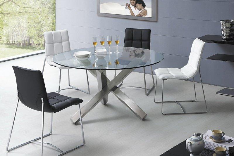 Обеденный стол хай тек