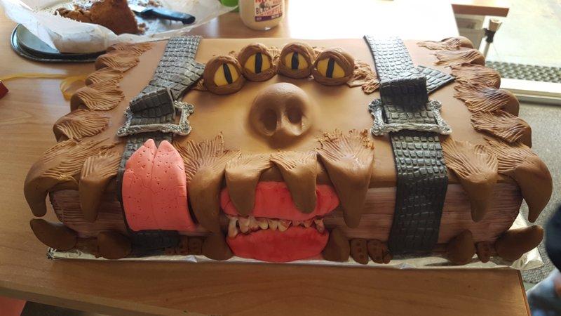 Очень странный торт