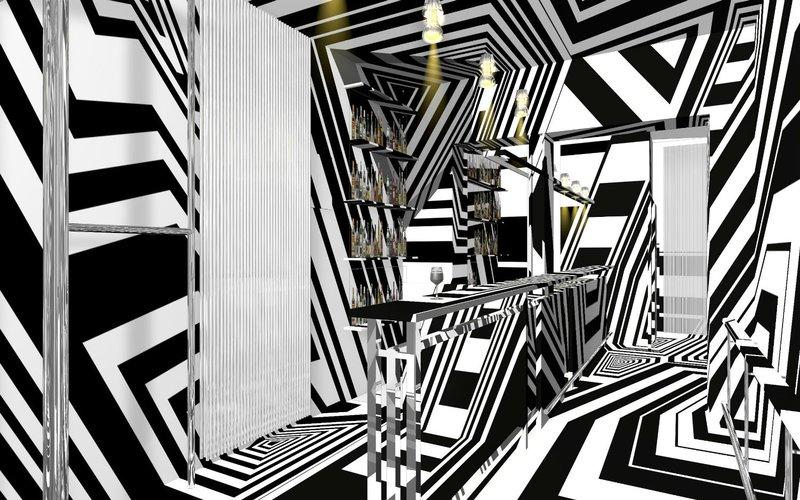 Комната с оптической иллюзией
