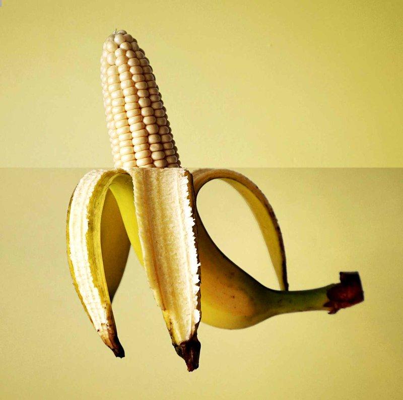 Банан-кукуруза