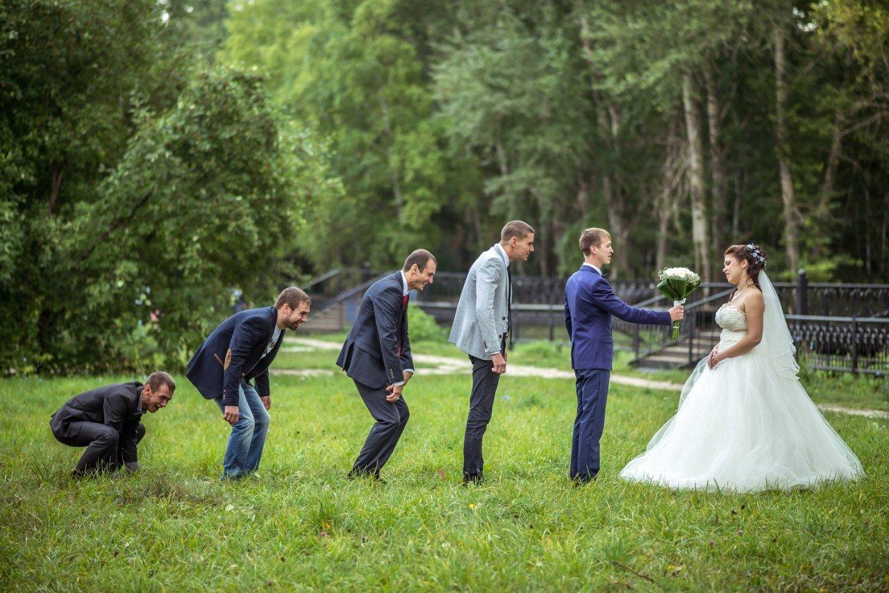 Идеи для веселой свадебной фотосессии основном такой