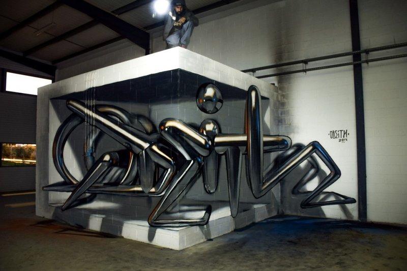 Необычная инсталляция