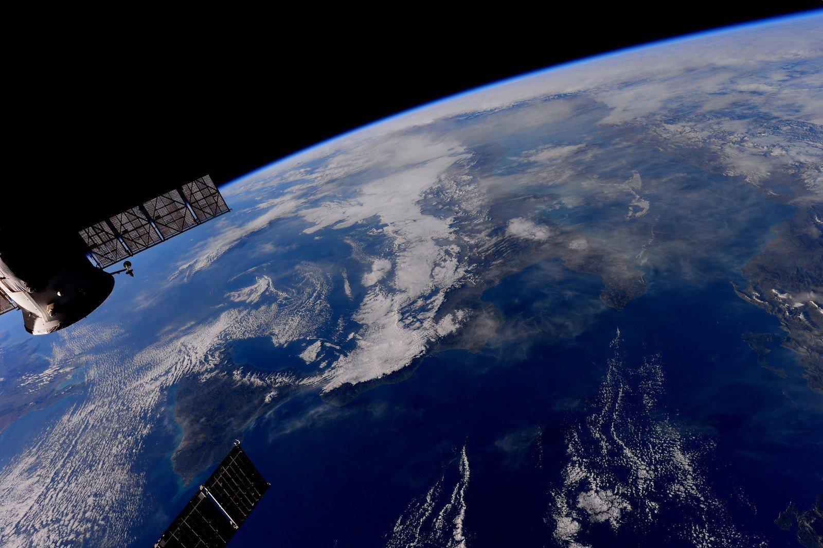 снимок земли из космоса картинка