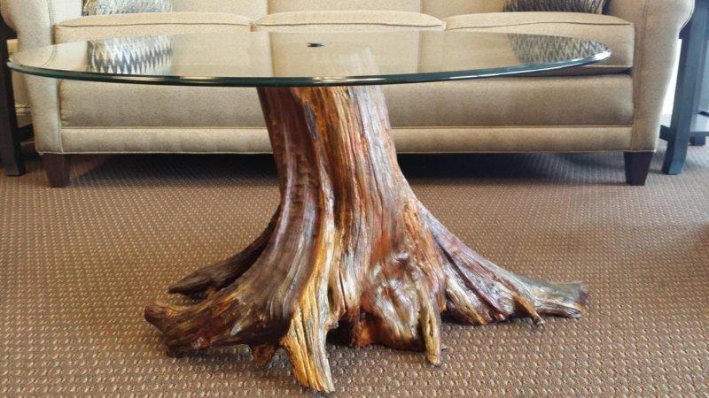 Стол из корня дерева