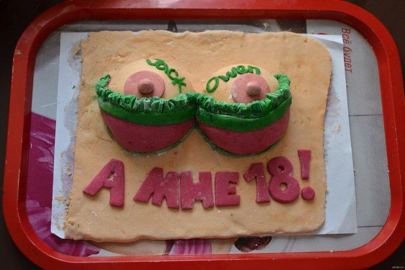 Торт на 18-летие
