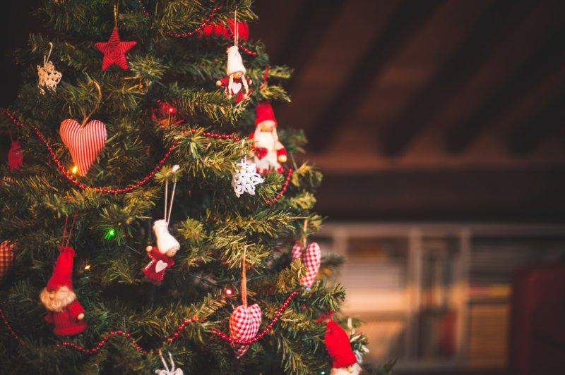 Уютная новогодняя елка