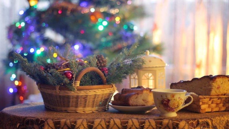 Уютные новогодние картинки