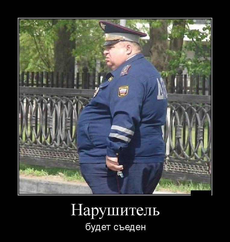 Толстый полицейский