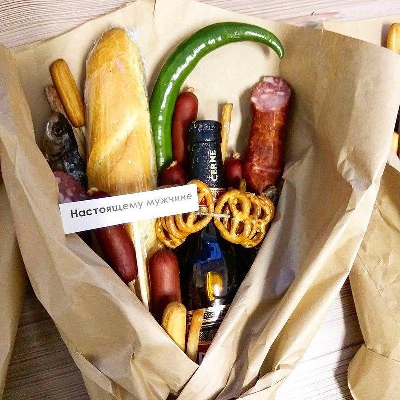 Подарочный набор с едой