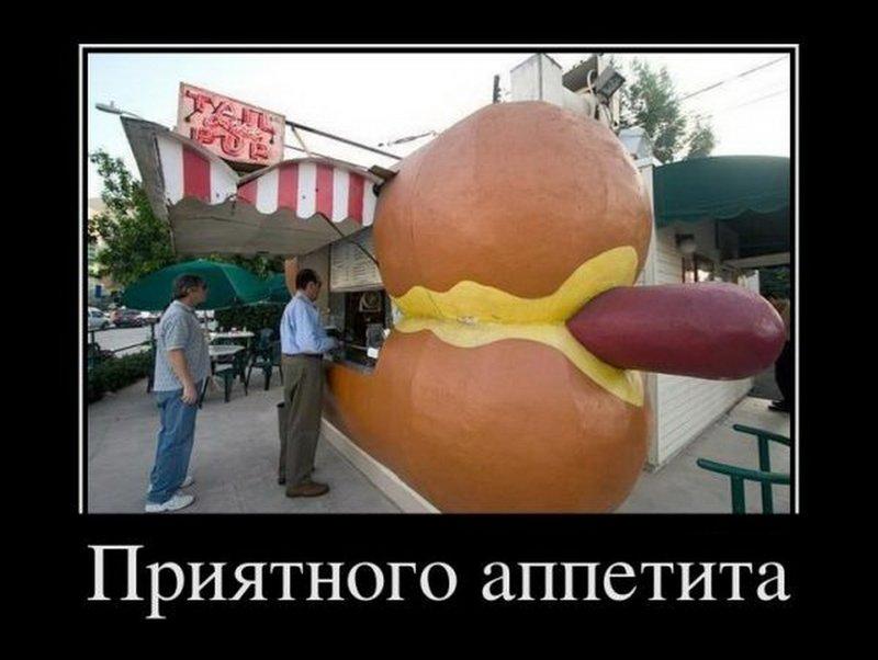 Демотиватор про хот-доги