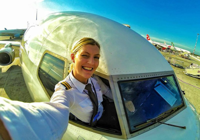 Селфи с самолетом
