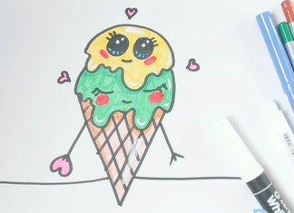 Мороженое с глазками