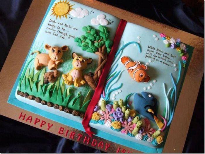 Торт книга для детей