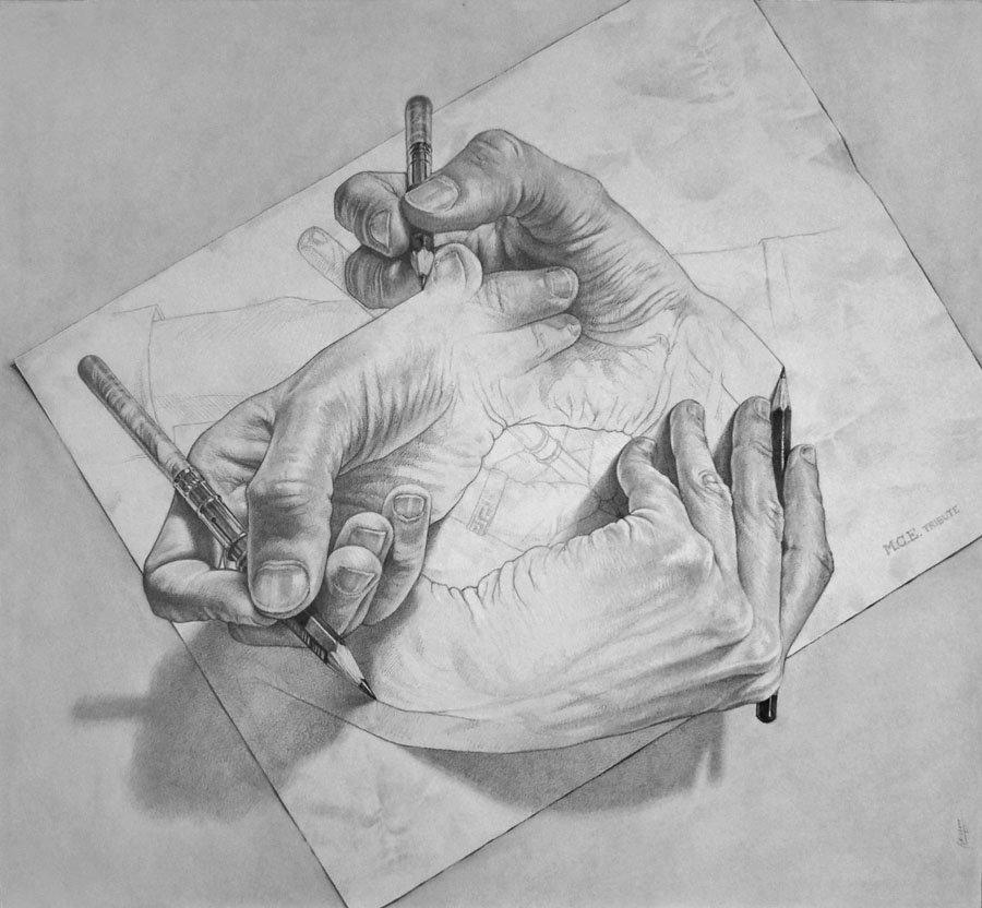 Как называются рисунки простым карандашом