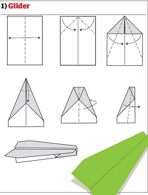 Как сделать из бумаги новый самолёт