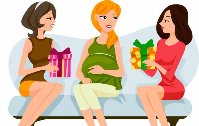 Открытка беременной подруге с днем рождения 89