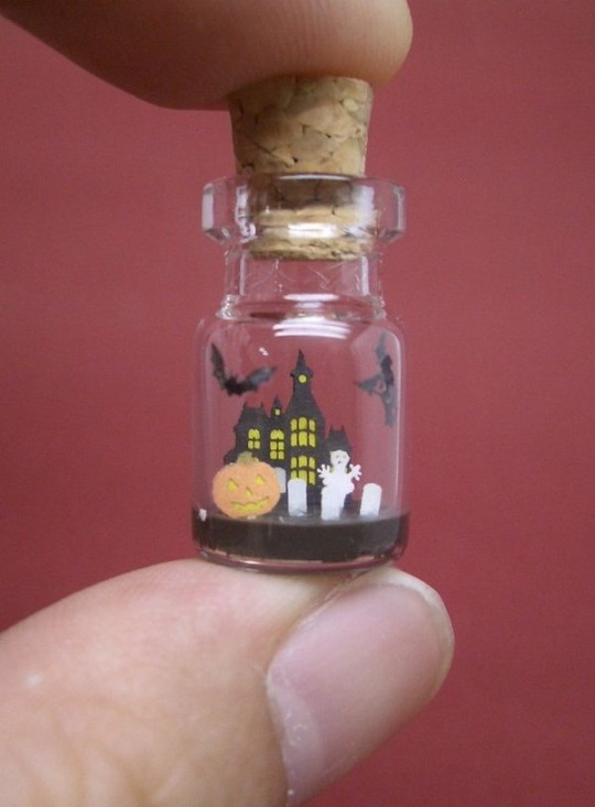 Миниатюра как сделать бутылку