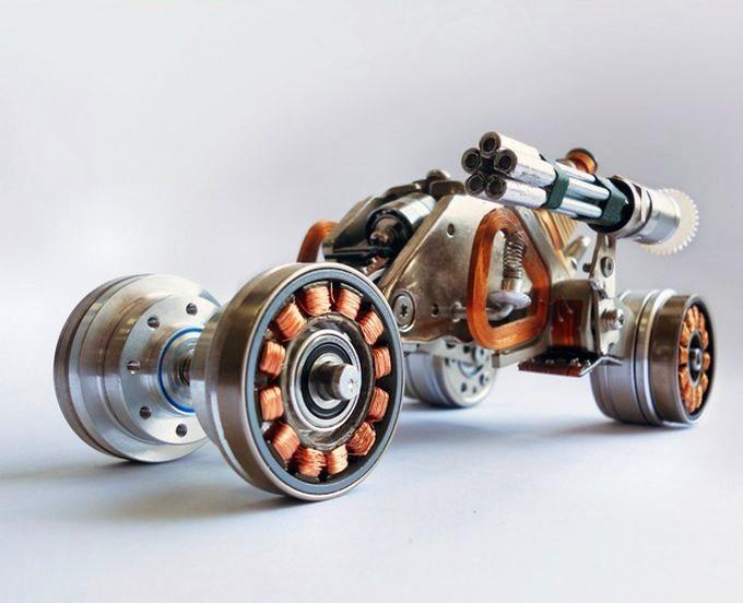Двигатель бесколлекторный своими руками