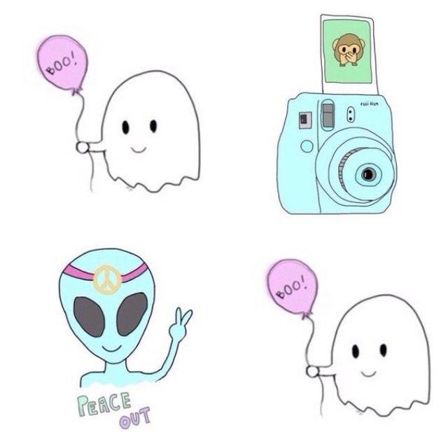 рисунки лёгкие картинки
