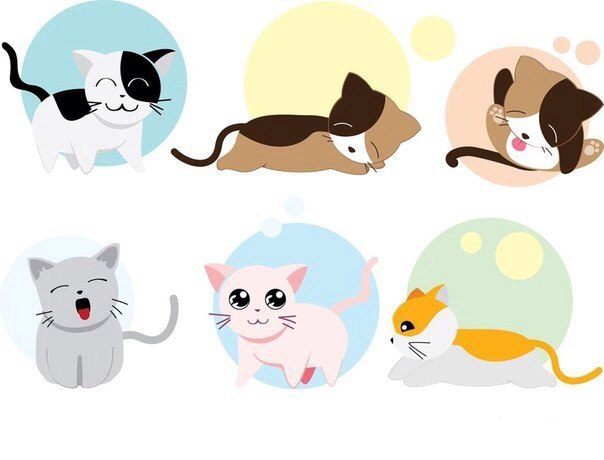 Картинки для личного дневника котята