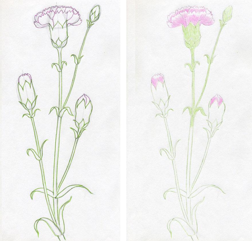 Картинки для срисовки простым карандашом про любовь 8