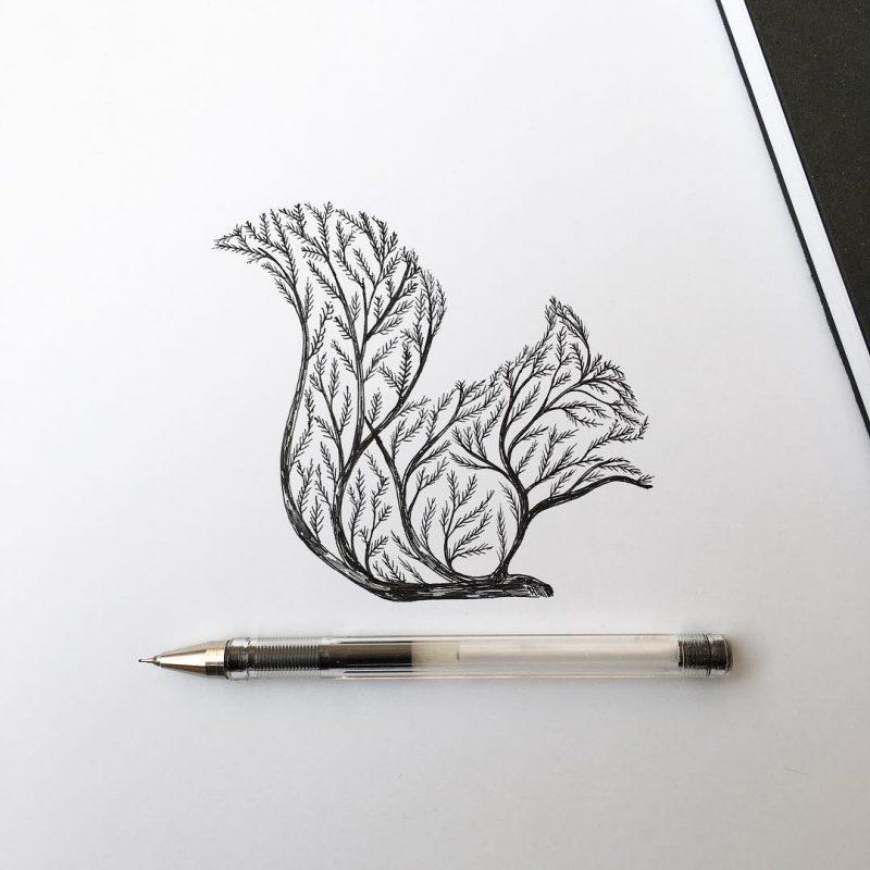 Как нарисовать волка маслом kraški ovčar