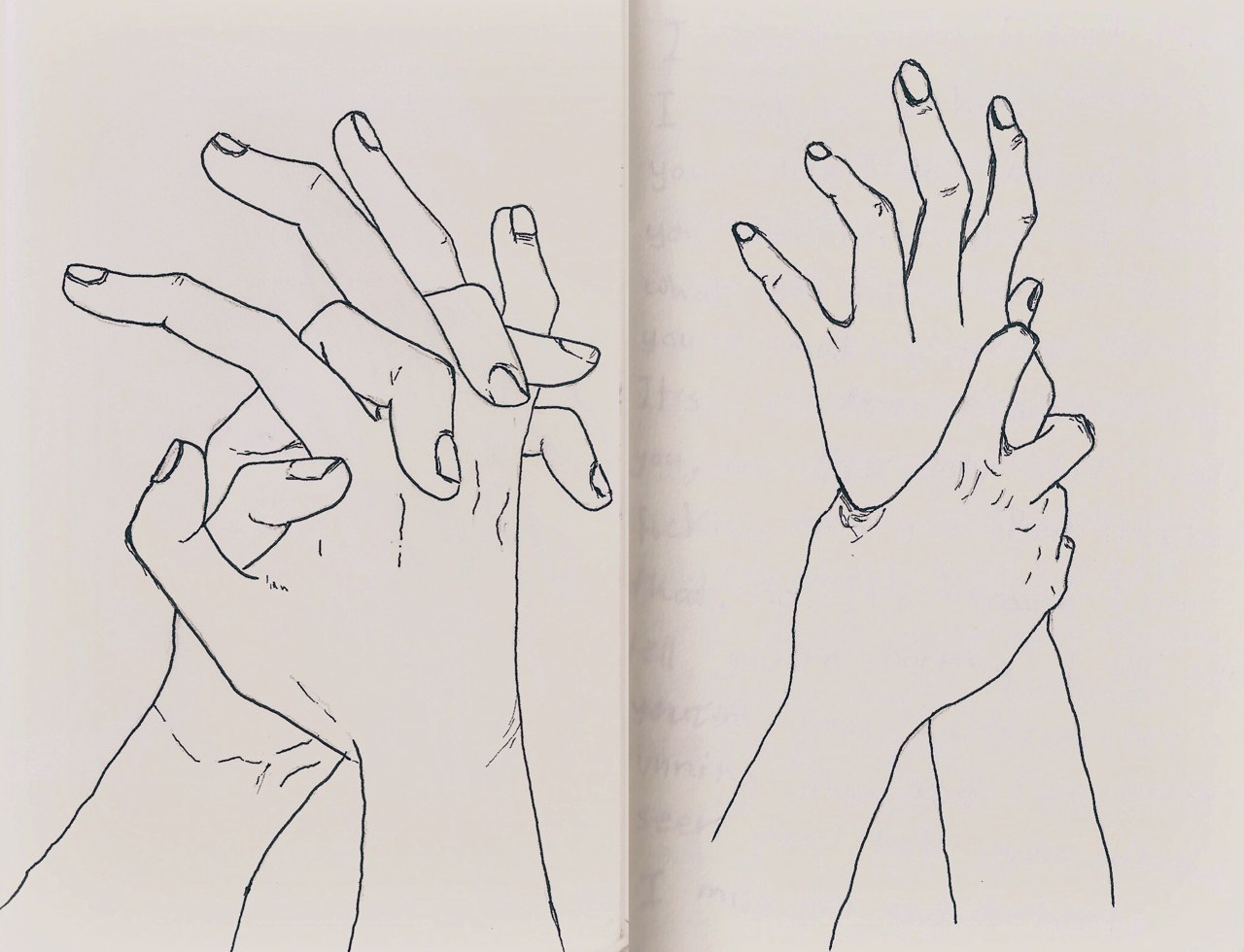 Рисунки в скетчбук про любовь