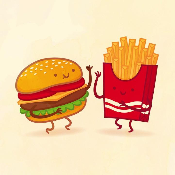еда с глазами картинки