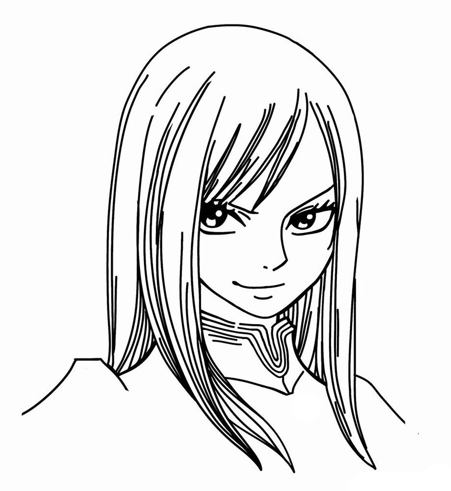 """Картинки для срисовки аниме """"Хвост Феи"""""""