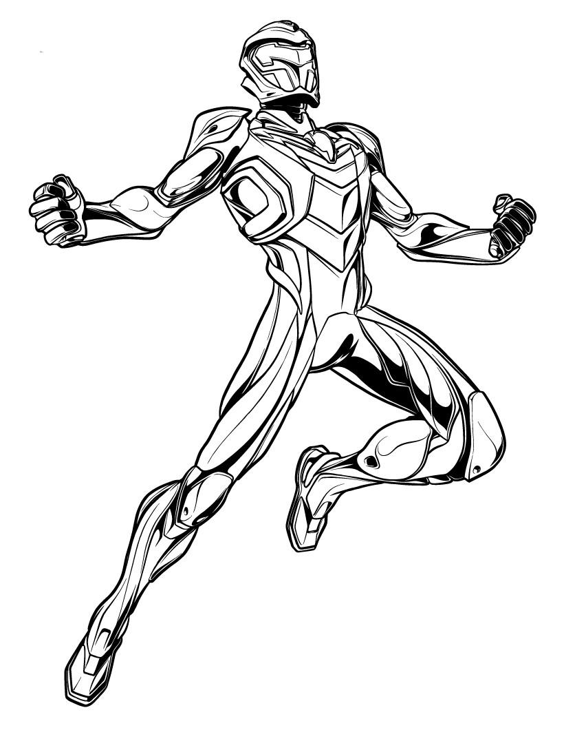 Рисунок человека паука 2099 years