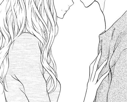 Милые картинки аниме любовь