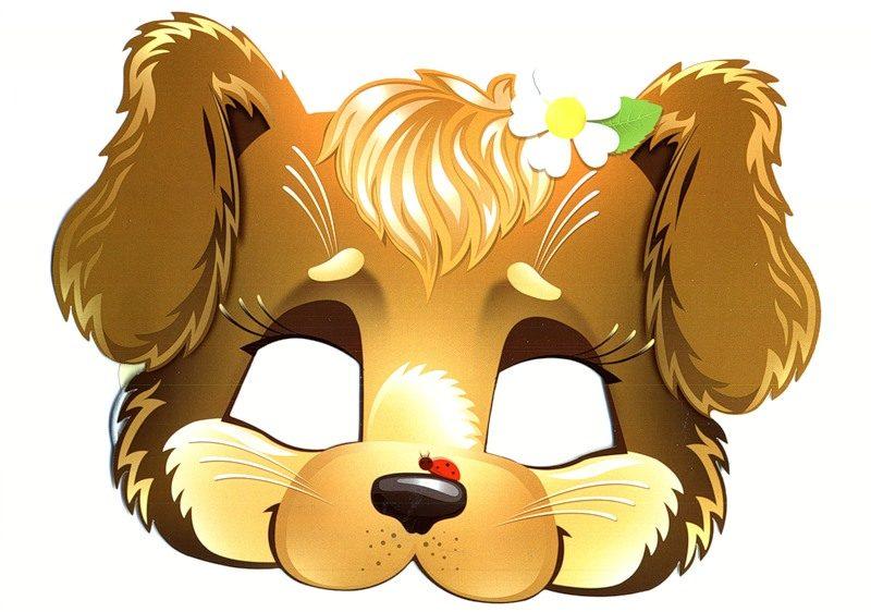 Рисунки маски животных на