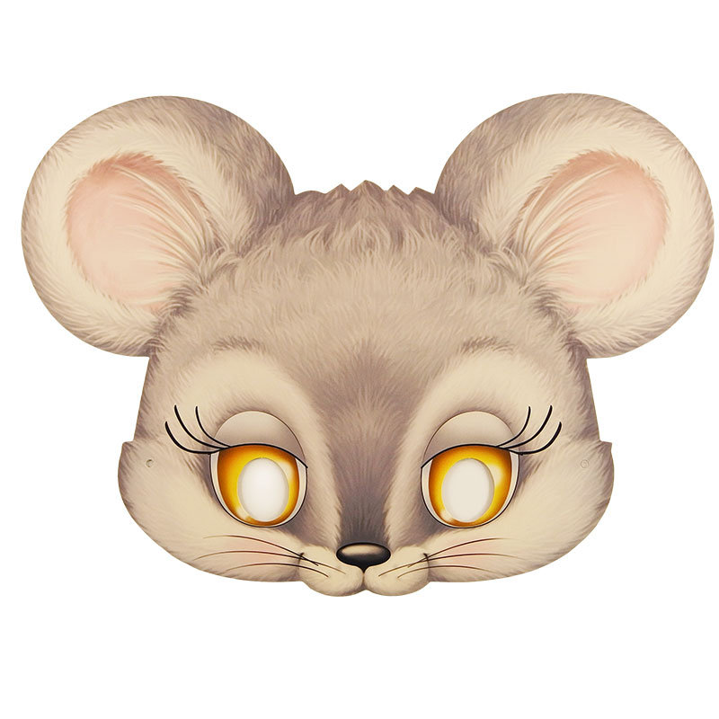 Маски животных для детей на голову распечатать картинки Рисунки Карандашом для Начинающих Про Любовь Поэтапно