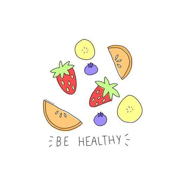 Картинки фрукты няшные
