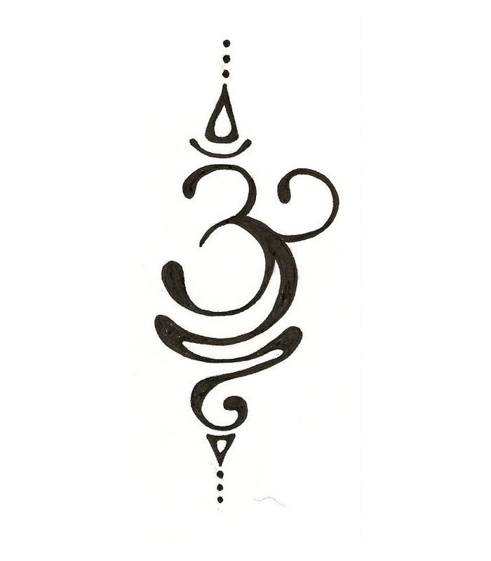 Yoga Symbol Tattoos Gm6fo