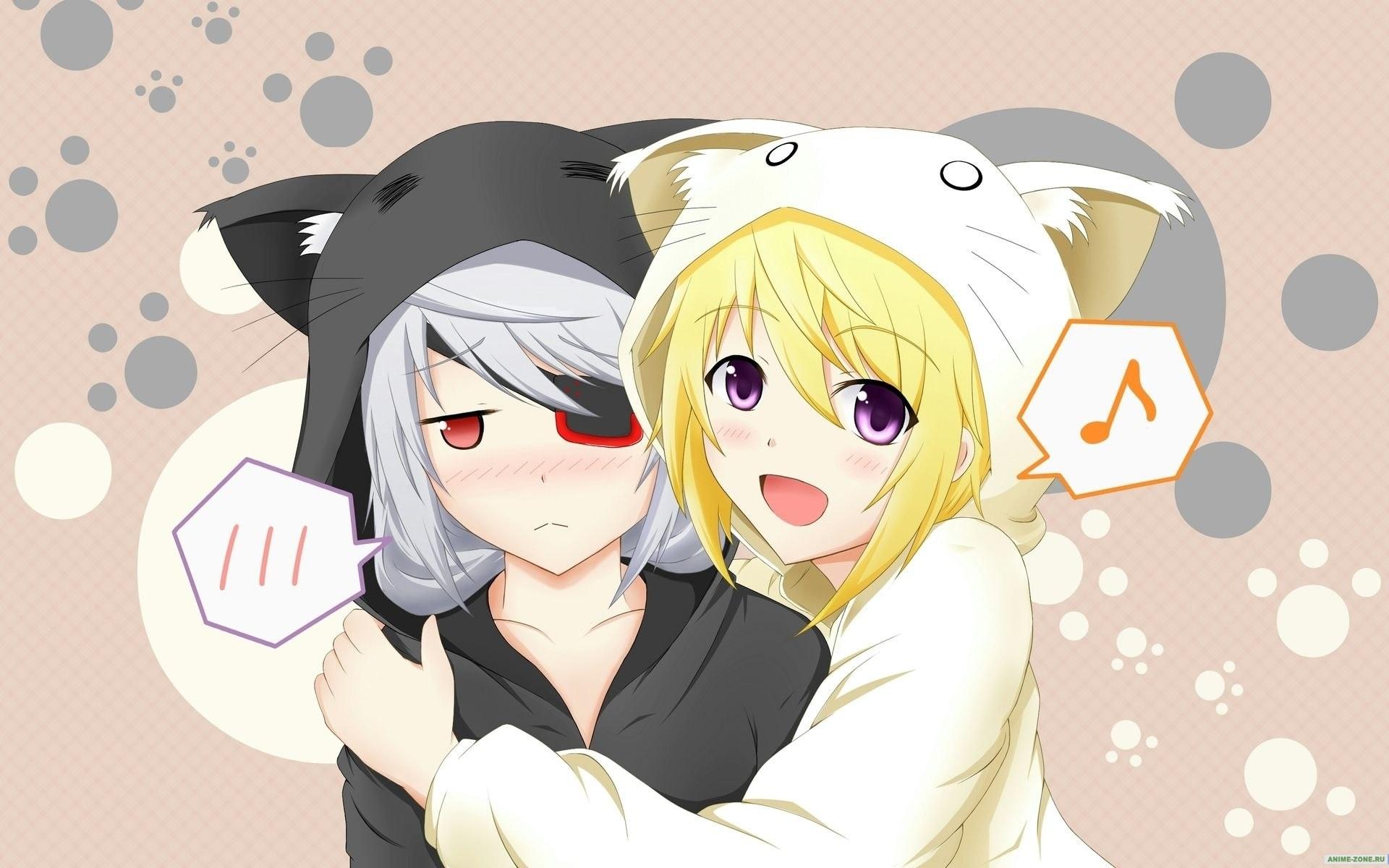 картинки женщины кошки аниме