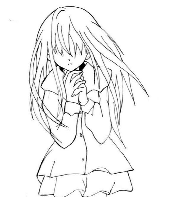 аниме легкие картинки для срисовки