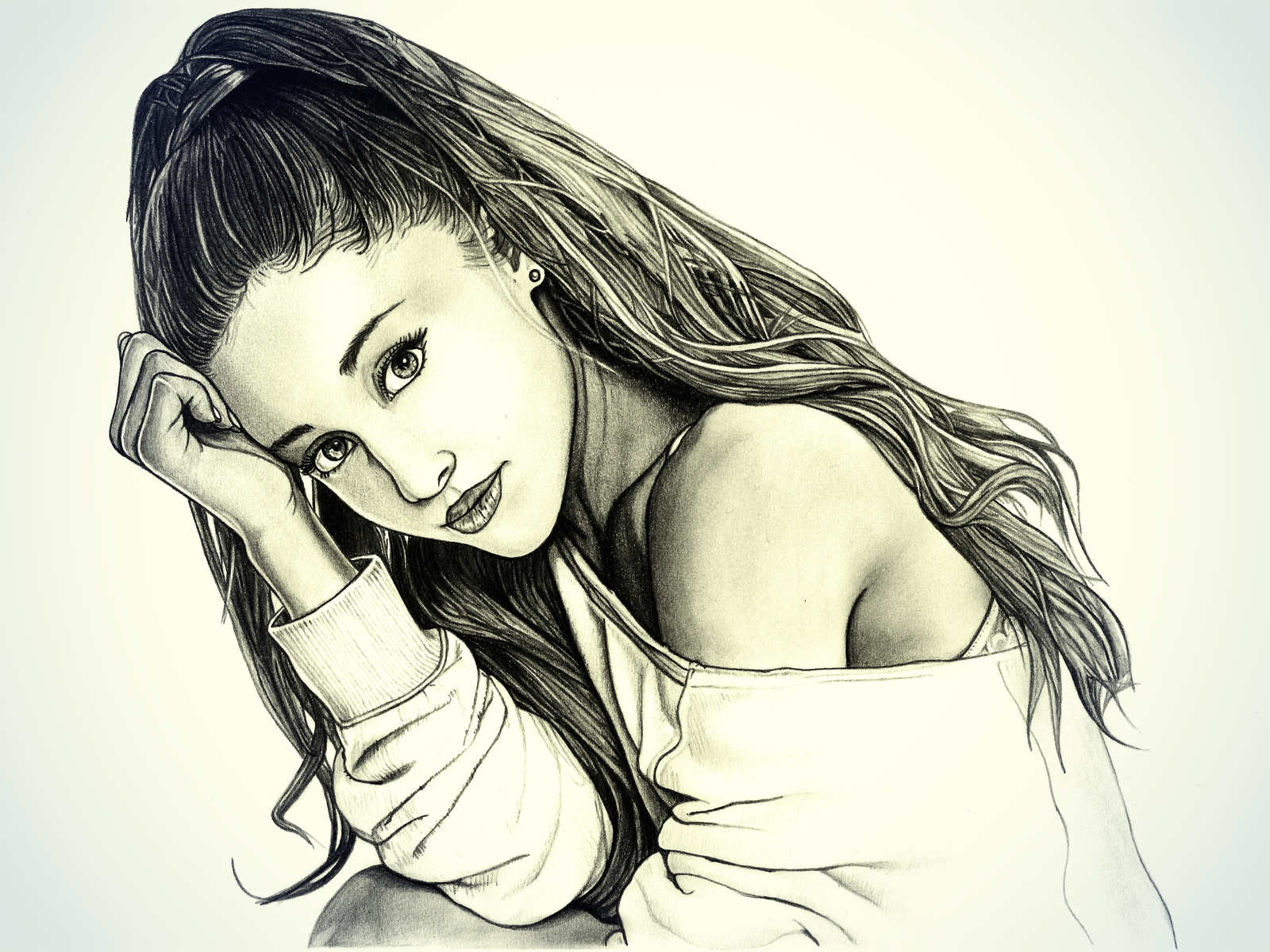 Картинки рисунок лицо девушки