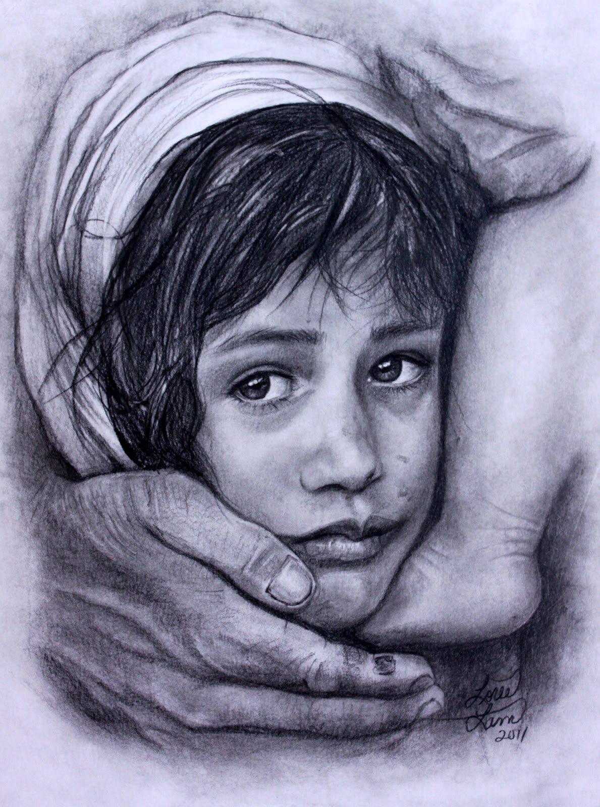 Рисунки людей карандашом